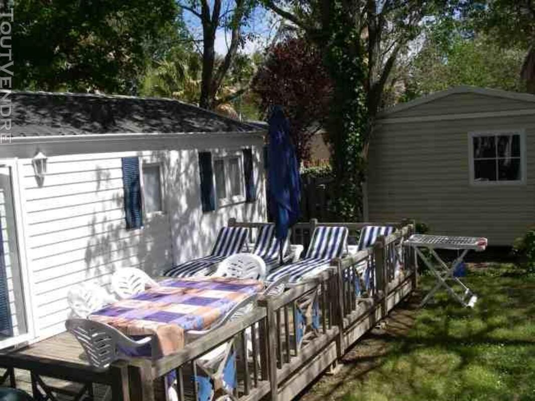 Mobil home 2 ch 42m² camping 5* la sirène Argelès 177016232