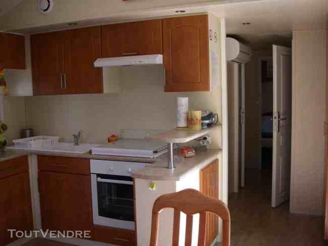 Mobil home 2 ch 42m² camping 5* la sirène Argelès 177016259