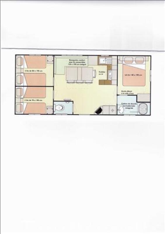 Mobil Home 3 chambres sur le Bassin d'Arcachon 63522663