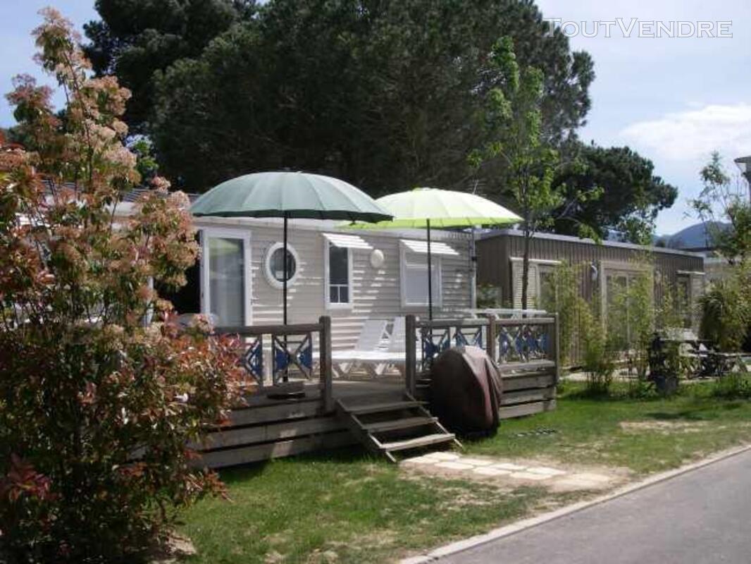 Mobil home 40m² ( 3ch-2sdb) camping 5* la sirène 177016292