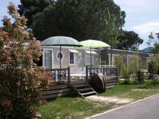 Mobil home 40m² ( 3ch-2sdb) camping 5* la sirène