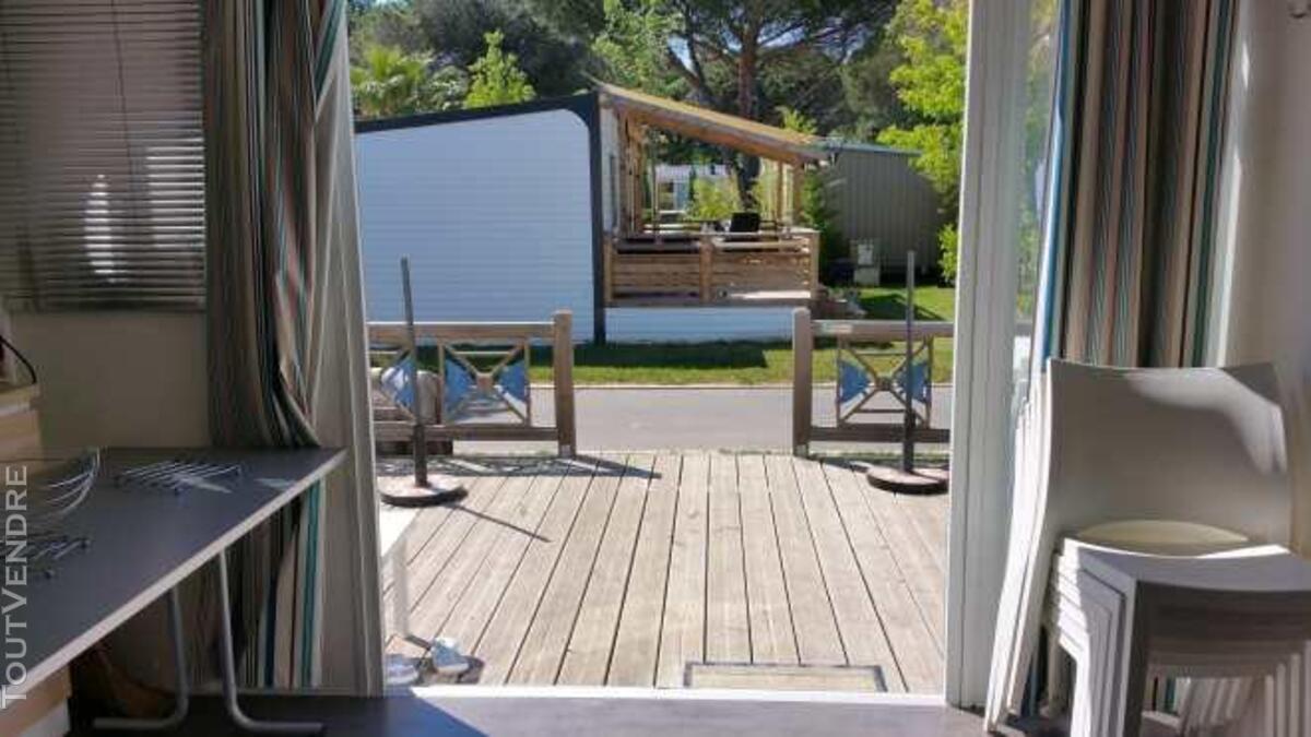 Mobil home 40m² ( 3ch-2sdb) camping 5* la sirène 177016301