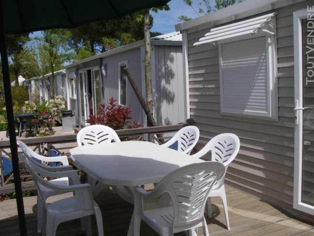 Mobil home 40m² ( 3ch-2sdb) camping 5* la sirène 177016304