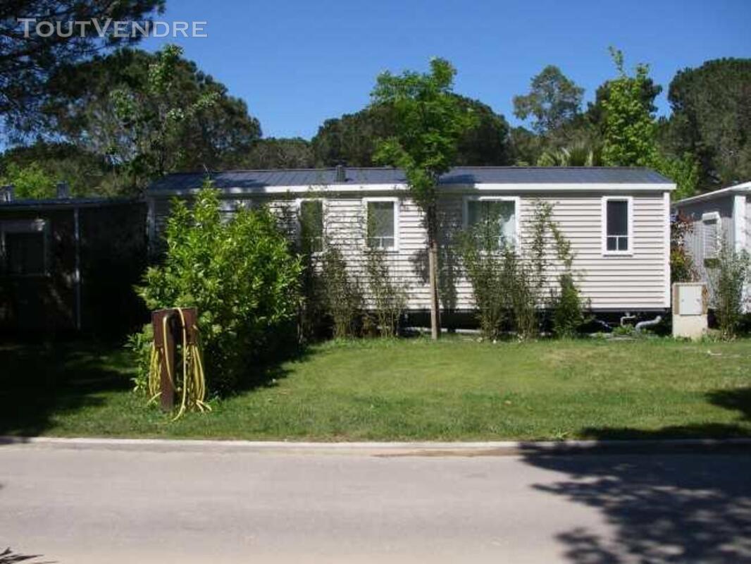 Mobil home 40m² ( 3ch-2sdb) camping 5* la sirène 177016310