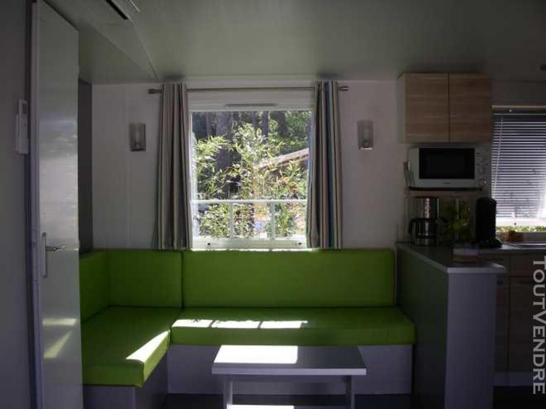 Mobil home 40m² ( 3ch-2sdb) camping 5* la sirène 177016313