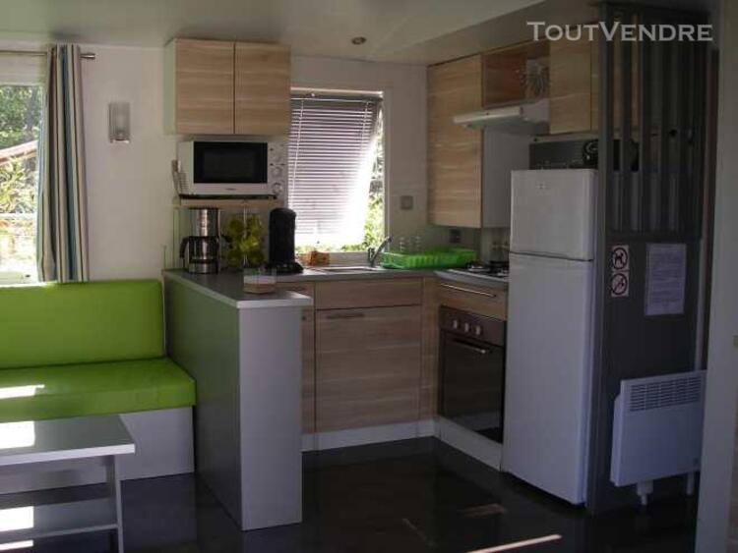 Mobil home 40m² ( 3ch-2sdb) camping 5* la sirène 177016319