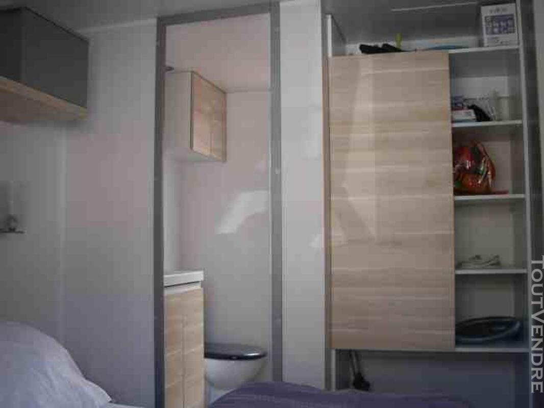Mobil home 40m² ( 3ch-2sdb) camping 5* la sirène 177016325
