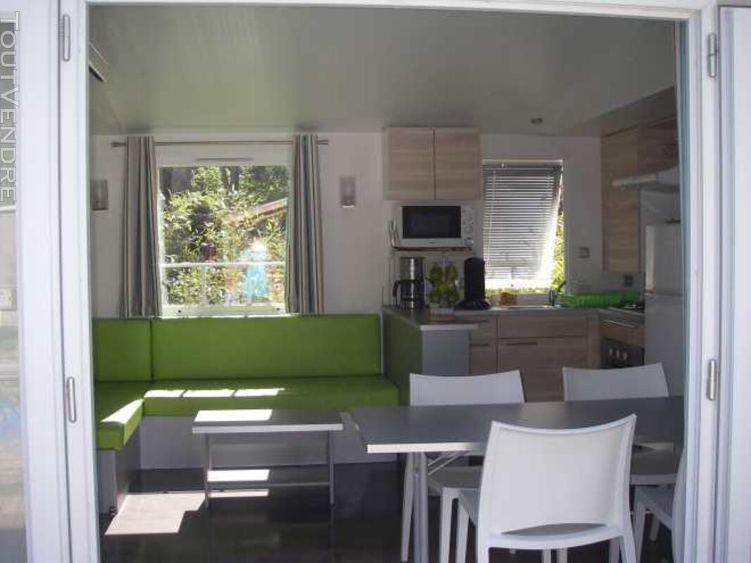 Mobil home 40m² ( 3ch-2sdb) camping 5* la sirène 177016328