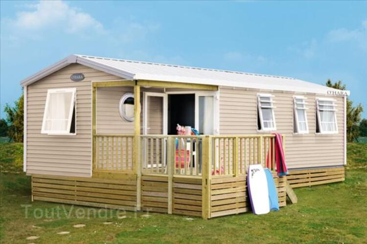 Mobil-home neuf  O'HARA 3ch 38m² sur parcelle. Eden camping* 62687873
