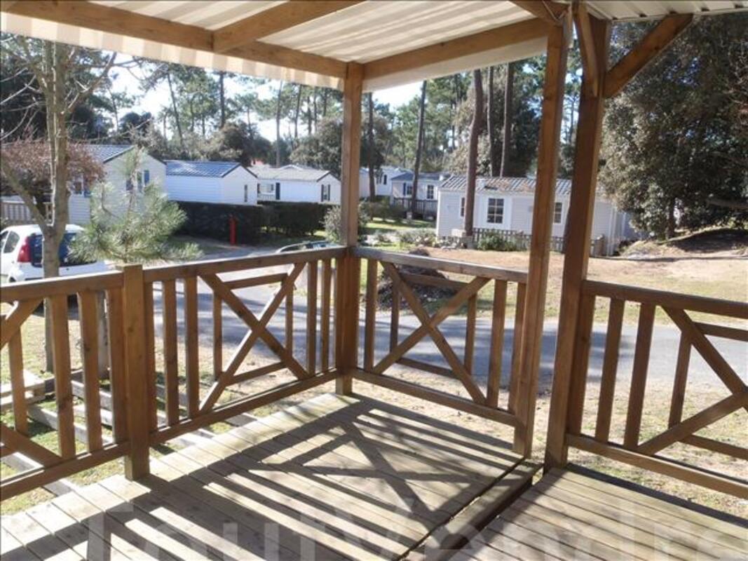 Mobile home à louer 2 chambres sur camping avec piscine 86960298
