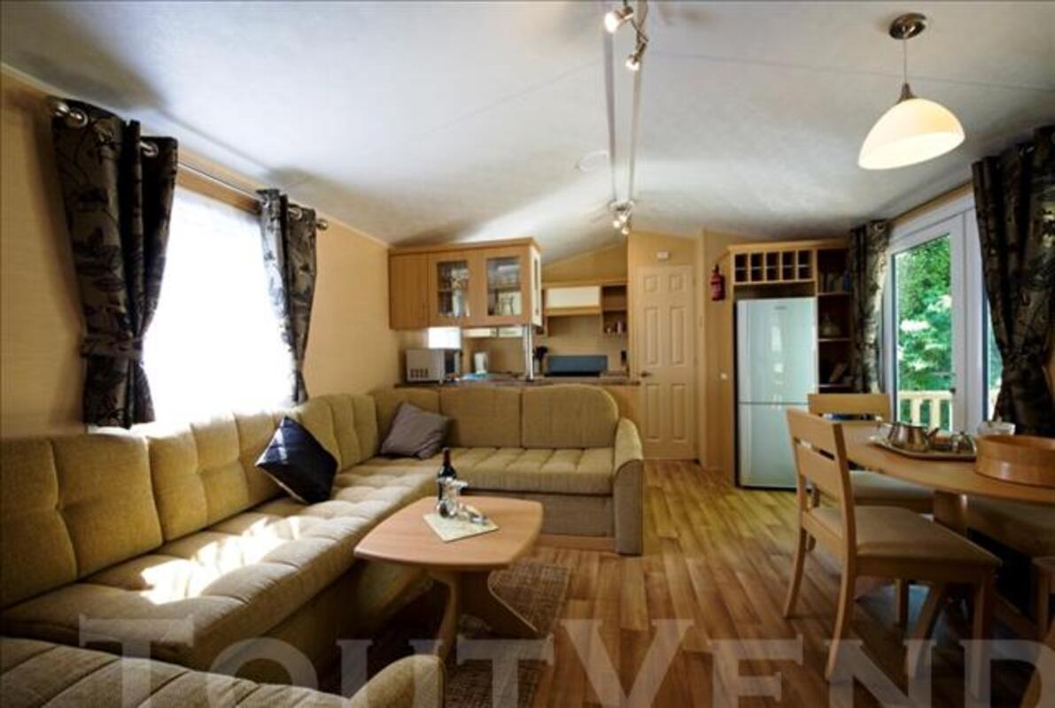 "MOBILHOME LUXE 40 m2 - ""WILLERBY Villa de Luxe"" 74421411"