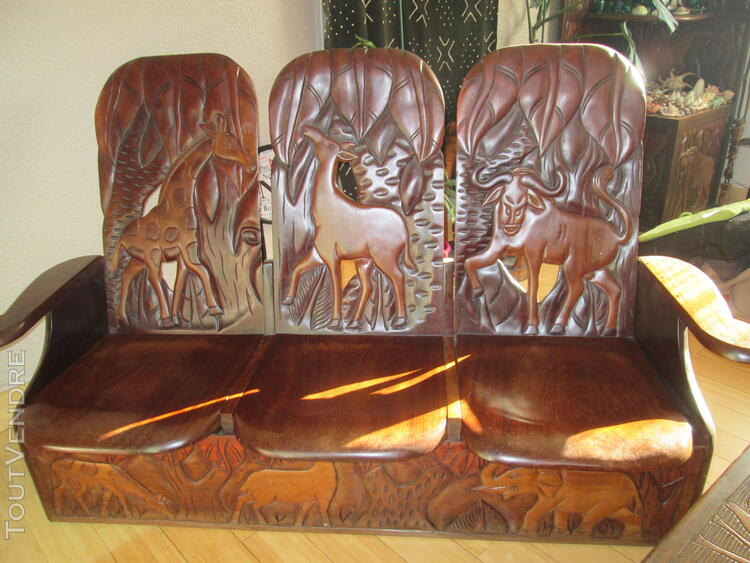 Mobilier exotique africain 349064474