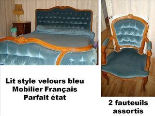 MOBILIER FRANCAIS EXCELLENTE QUALITE+HORLOGE COMTOISE