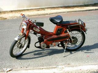 Mobylette Motobecane 1960 personnalisée - 2553 kms
