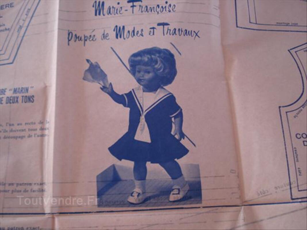 Modes et travaux patrons pour poupées Juillet 1973 56432830
