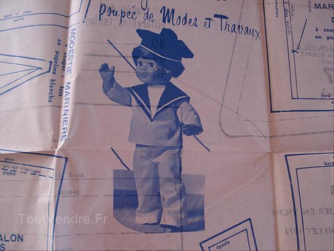 Modes et travaux patrons pour poupées Juillet 1973 56432831