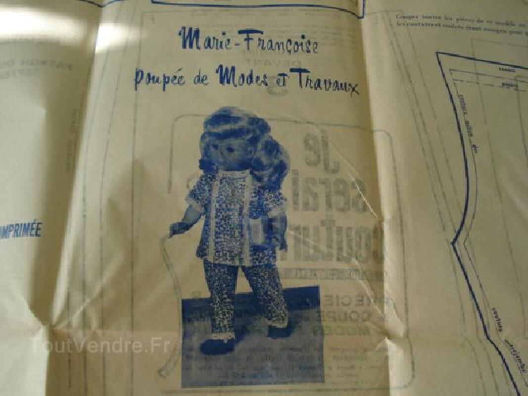 Modes et Travaux patrons pour poupées Septembre 1971 89826058