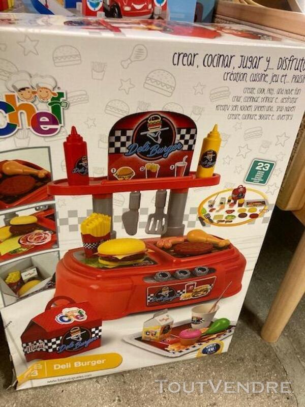 Mon Petit Chef Deli Burger Chicos 83007 717977833