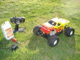 MONSTER TRUCK THERMIQUE 1/10