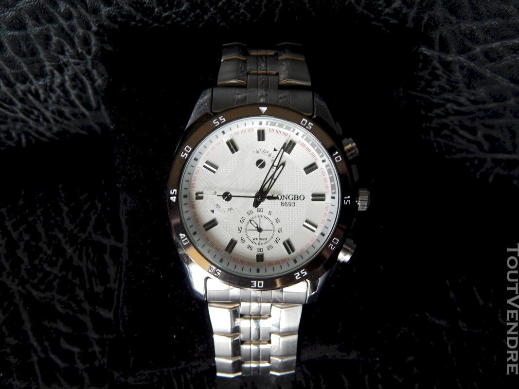 Montre bracelet homme et boîtier gradué métal 116227596