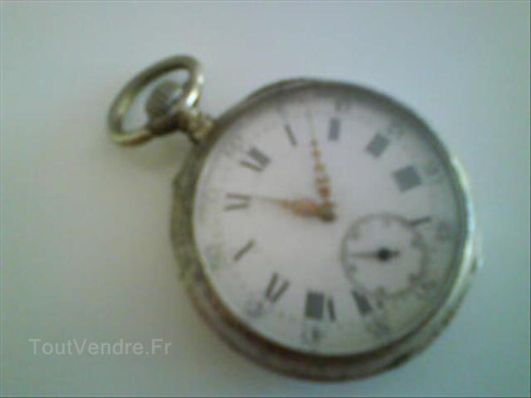 MONTRE  GOUSSET - ANCIENNE  15 rubis (bloquée) poincons 88246892