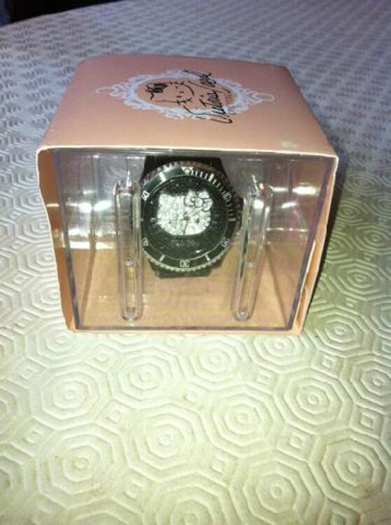 Montre hello kitty by victoria couture noire 97120760