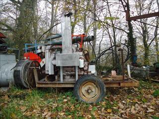 MOTEUR FIAT UTB 4 cylindres 75cv