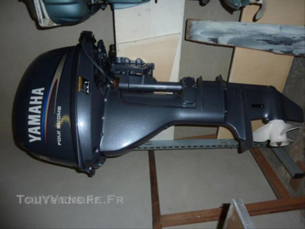 Moteur HB 9,9 Yamaha 4T arbre long moins de 50 heures 45529614