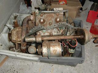 Moteur renault coach BD2 de 9 cv essence