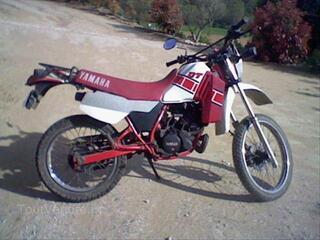 Moto 125 dtlc yamaha