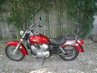 Moto 125 honda shadows
