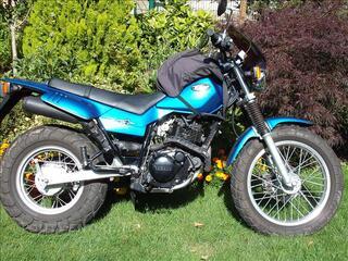 Moto 125 tw yamaha