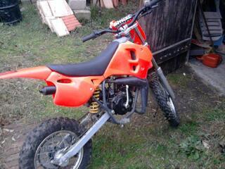 Moto cross morini
