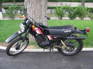 Moto enduro Yamaha 125 DTMX
