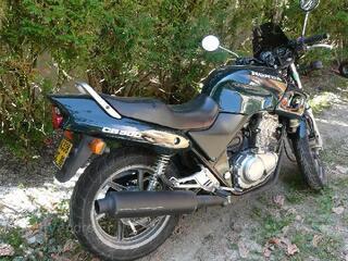 Moto Honda 500 CB