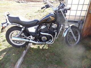 Moto honda 500 VTC