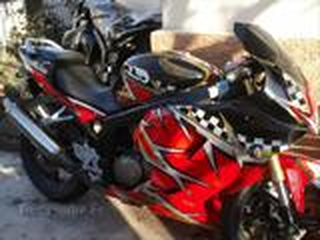 Moto Hyosung GT 125 R fun black