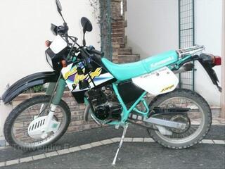 Moto Kawasaki 125