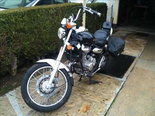 Moto Kimco 125 cm3