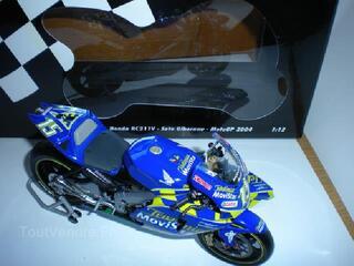 Moto minichamps honda RC211V - sete gibernau motogp2004
