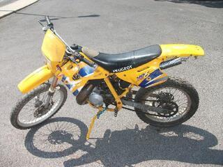 Moto peugeot xp6 50cc