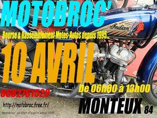 Motobroc marché de la motocyclette
