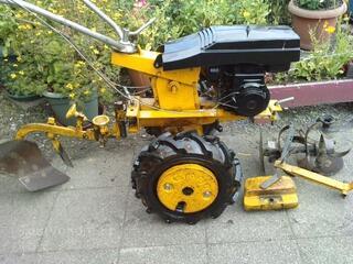 Motoculteur moteur BERNARD