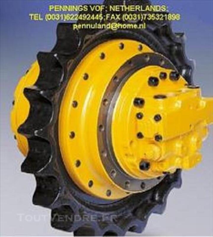 MOTOREDUCTEUR,moteur de chenille TOUTE PELLE 78121079
