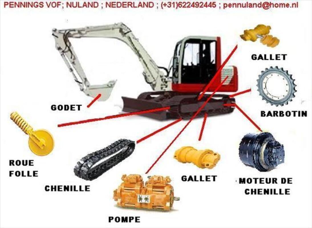 MOTOREDUCTEUR,moteur de chenille TOUTE PELLE 78121081