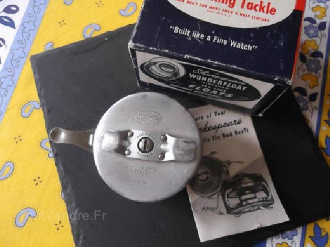 Moulinet automatic ancien pèche a la mouche 105400272