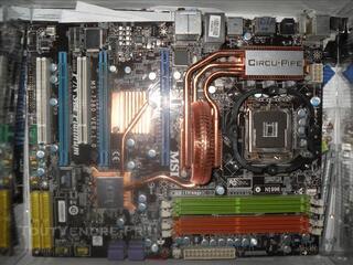 MSI P7N SLI Platinum, LGA 775 + Ventirad ZALMAN !