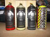 MTN limited edition Spraycan Montana Ironlak OBEY LODOW