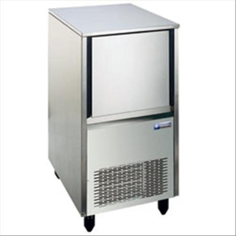 MXP-35A MACHINE A GLACONS CREUX INOX 28kg/24hRES12kg 42387539