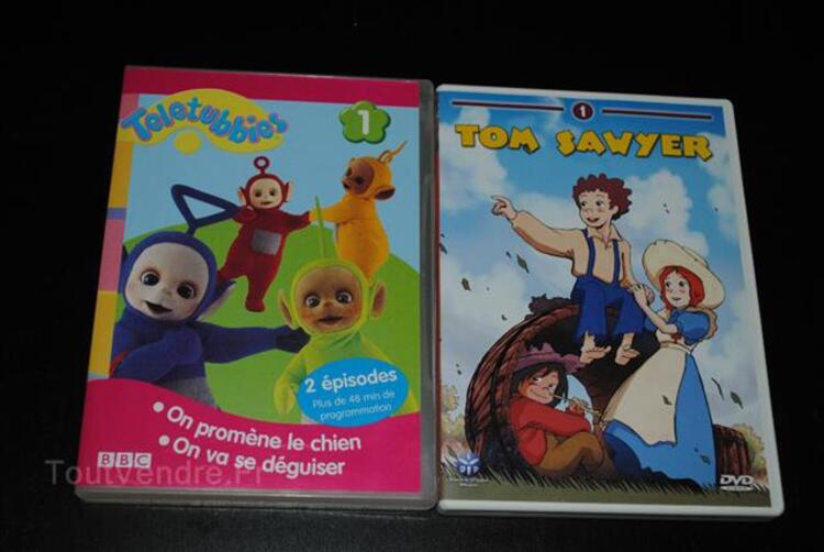 N°1 : Tom Sawyer - Teletubbies enfant lot 3 DVD à 5€ 87915662